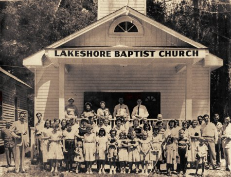 Lakeshore Baptist Church ca 1952