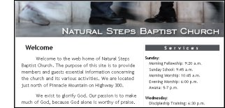 Natural Steps Baptist Church