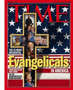 Cover: TIME Lists America's 25 Most Influential Evangelicals